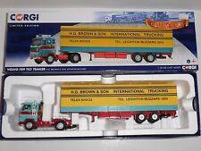 Corgi.CC15603 VOLVO F89 TILT TRAILER H G BROWN & SON LEIGHTON BUZZARD. scale1:50
