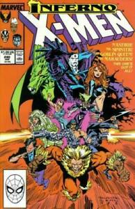 Uncanny X-Men #240 mint unread and bagged and boarded