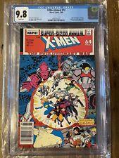 X-men Annual #12 CGC 9.8 Newsstand First Appearance X-Babies Team Mojo Longshot