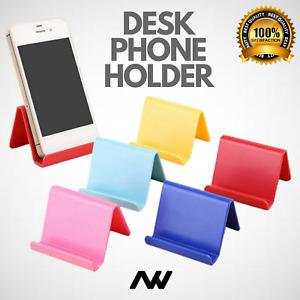 Universal Folding Mobile Phone Holder Stand Desk Tablet Portable UK
