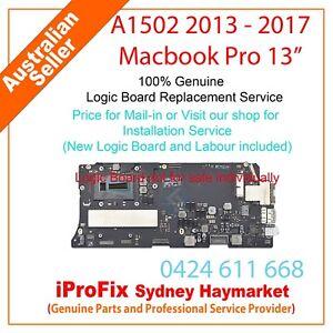 """Apple Macbook Pro 13"""" A1502 2013 - 2017 Logic Board Replacement 820-3476-A 820-4"""