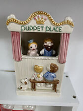 """Enesco """"Puppet Place"""" Music Box Playing """"My Favorite Things"""""""