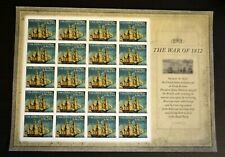 2012USA #4703a Forever - War of 1812 - USS Constitution - Sheet of 20 (IMPERF)