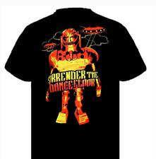 Surrender The Dance Floor Men's Robot T-shirt Black XLarge  NEW