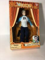 NSYNC JUSTIN TIMBERLAKE DOLL COLLECTIBLE MARIONETTE ACTION FIGURE LIVING TOYZ