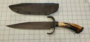 Covington Edged Weaponry Hell's Belle Bowie Knife made by Bill Bagwell's student