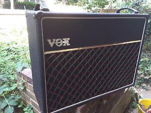 Vintage 1980s Vox A.C. 125 100 WATT amplifier 4xEL34's