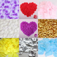 1000pcs Silk Rose Petals Confetti Flower Engagement Celebration Wedding Decors