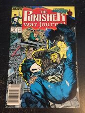 The Punisher:War Journal#3 Incredible Condition 8.5(1989) Daredevil Jim Lee Art