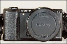 Sony Alpha a5100 24.3 MP ILCE E Mount Black Camera Body - Mint - 700 Clicks