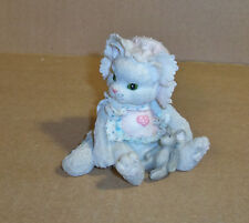 "Grey Kitty-W-Mouse, by Enesco, 1992 ""Love's Special Delevery"""
