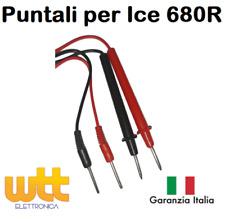 Puntali per Tester ICE 680R con spine 2mm