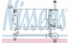NISSENS Autokühler für FIAT PANDA 617845 - Mister Auto Autoteile