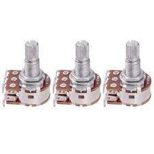 3x 18mm Shaft Guitar Volume Audio Taper Potentiomètre pour Guitare Basse
