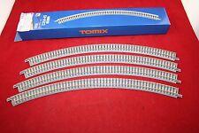 Tomix 1856 (971856) Fine Track Spur N 4 x gebogenes 45° R 354 mm Holzschwelle
