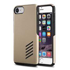 Étuis, housses et coques noirs métalliques iPhone 7 pour téléphone mobile et assistant personnel (PDA)