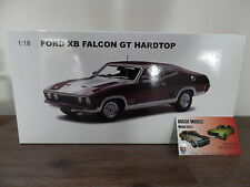 1:18 Biante Ford XB GT 351 Falcon Coupe Mulberry with Silver Highlights