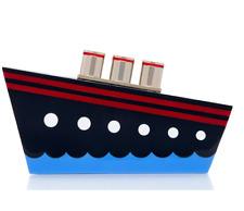 NWT Kate Spade Expand Your Horizons Resin Ship Clutch Bag - BRAND NEW! RARE!