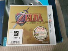 Zelda ocarina of time 3ds Collector ( Boîte Sans Le Jeu) Blister Neuf