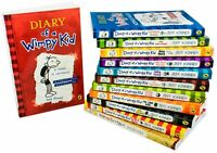 Diary of a Wimpy Kid Collection Jeff Kinney 12 Books Box NEW Set Double Down