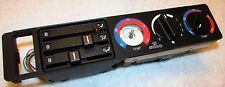 BMW EARLY 5-Series E34 HEAT A/C CONTROL PANEL Used From 06/1990 to 11/1990