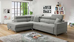 Brand new corner sofa bed with storage Veneto III