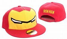 Iron Man Baseball Cap Yeux red