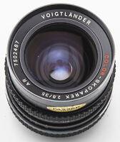 Voigtländer Color-Skoparex AR Color Skoparex 35mm 35 mm 2.8 Bajonett Rollei QBM