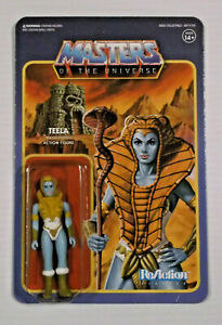 Super 7 Masters of the Universe ReAction Teela Blue Skin 2018 New Unpunched MOC