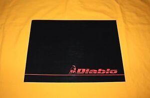 Lamborghini Diablo 1993 Prospekt Brochure Catalogue Depliant Prospetto VT