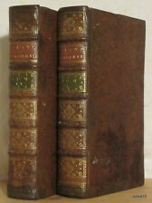 MATHEO MARIA BOYARDO ROLAND L'AMOUREUX 1747 2 vols 20 gravures BE