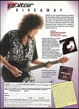 Queen Brian May Signature Guild Guitar Giveaway 1993 full page contest form