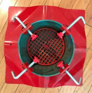 Heavy Duty Metal Christmas Tree Stand for Live Christmas Trees up to 10' TS99