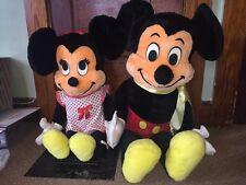 Mickey Mouse Stuffed Animal Plush Minnie Mouse Walt Disney Jumbo 3 foot Vintage