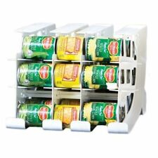FIFO Can Tracker- Food Storage Canned Foods Organizer/Rotater/Dispenser: