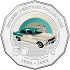 2016 Holden Heritage Collection FC Classic Car 50c Coin in Card