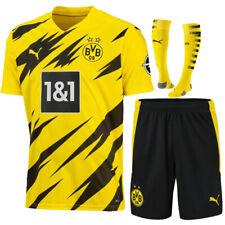 19/20 Football shirt Soccer Kit Kids Boys Adult Jersey 11 REUS #7 SANCHO