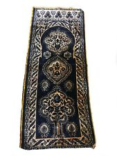 Antique Moroccan Moorish brocade tapestery Wall Hanging- Islamic Floral design-