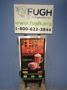 Bunn HC-3 Three Flavor Powdered Specialty Beverage Dispenser