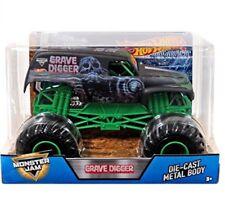 Hot Wheels Monster Jam Truck Grave Digger 35th Anniversary 1 24 Die Cast