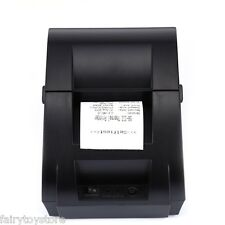 ZJ - 5890K 58mm POS Receipt Thermal Printer USB Portable EU for Windows/XP/Linux