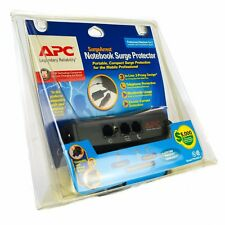 APC Notebook Laptop Power Surge Protector PNOTE PRO3 Mobile 3-Prong Phone Line