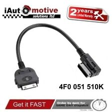 AUDI + VW iPod iPhone AMI MMI Cavo Audio Adattatore Interfaccia Lead Connettore per SLine