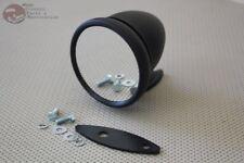Bullet Style Black Fender Door Sports Mirror Japanese British Compact Custom