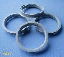 (FZ77) 4 Stück  Zentrierringe  67,0 / 59,1 mm grau für Alufelgen
