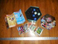 Lot of 6 Bakugan Battle Brawlers,Playing Cards & Tin Box
