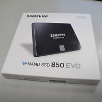 SSD 250GB Samsung 850 EVO MZ-75E250B/EU, SATA, 6,3cm (2,5 Zoll)