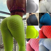 Women Compression Anti-Cellulite Yoga Pants Gym Sport Leggings Butt Lift Trouser