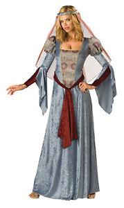 Maid Marian Adult Womens Costume Gown Renaissance Faire Medieval Velvet