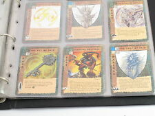 Blood Wars CCG Complete Set Lady Of Pain Key Floating Gods Molydeus 603 Cards
